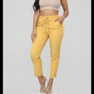 ✨ Fashion nova take the high road pants ✨